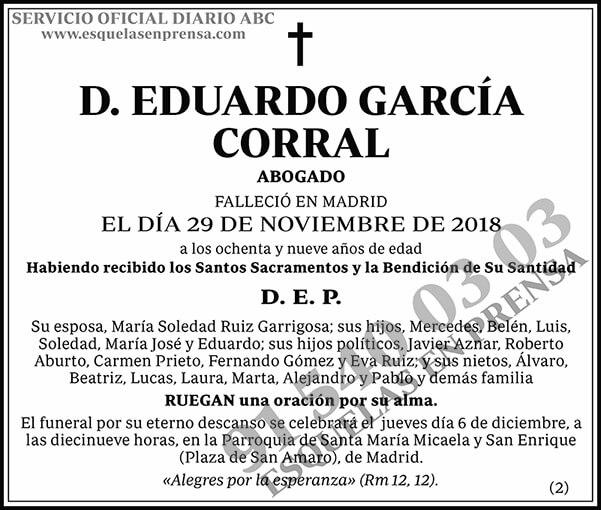 Eduardo García Corral
